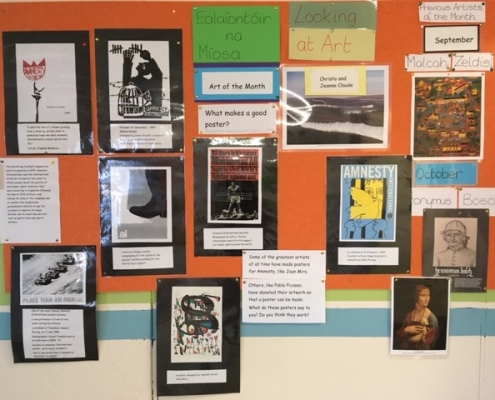 Artist Of The Month Display